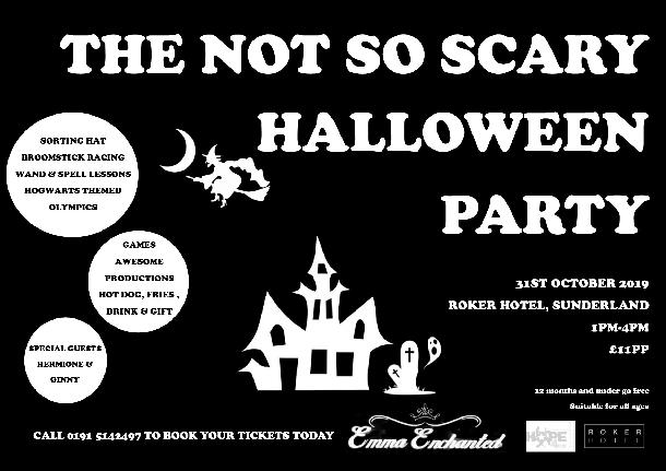 Whats on in Tyne & Wear : The Not So Scary Halloween Party